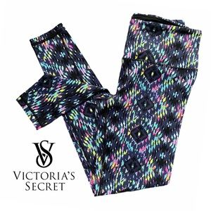 Victoria's Secret Sport VSX Neon Knockout Tights
